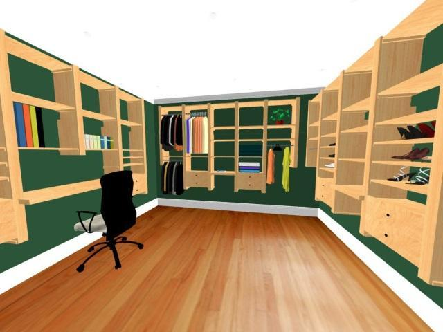 Closet Design Samples