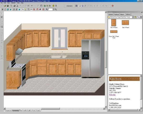 Kitchen Refacing Software
