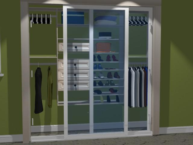 Create your own closet system for Design your own closet