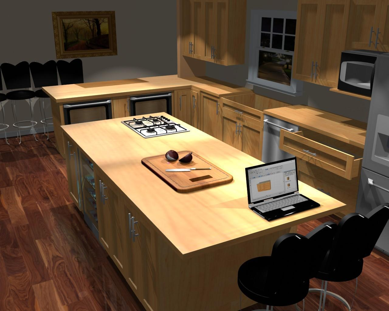 Kitchen cabinet design software for Kitchen designs programs