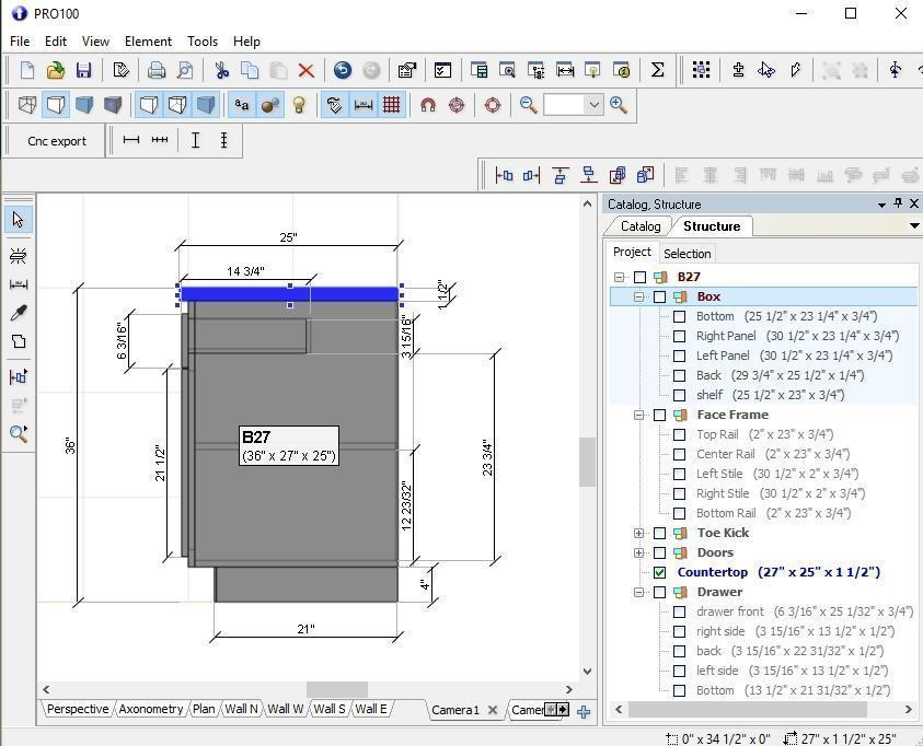Shop Drawing With Pro100 Software